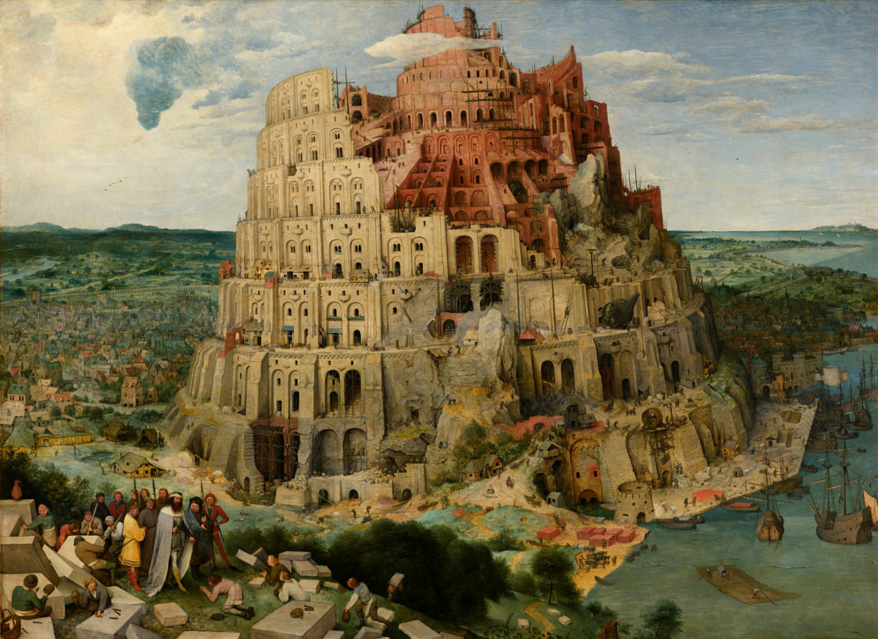 Most Famous Babel Towers In Art - DailyArtMagazine com - Art