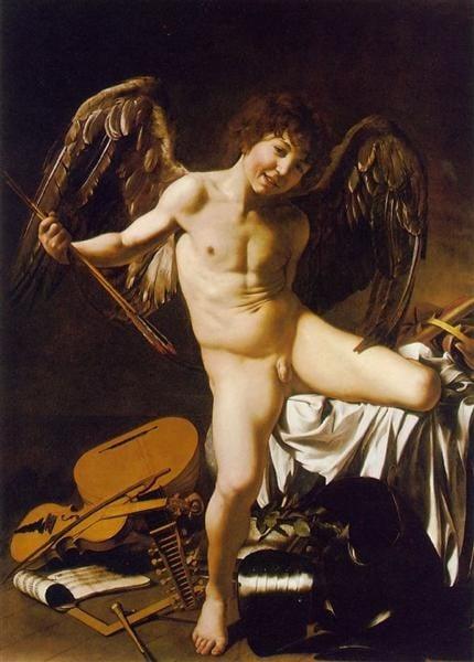 Caravaggio, Amor Victorious, 1602, Gemäldegalerie, Berlin, Germany