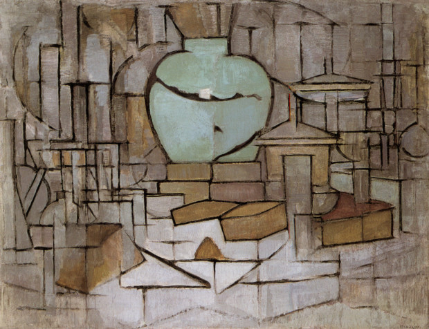 Piet Mondrian, Still Life with Ginger Jar I, 1911/12, Gemeentemuseum Den Haag