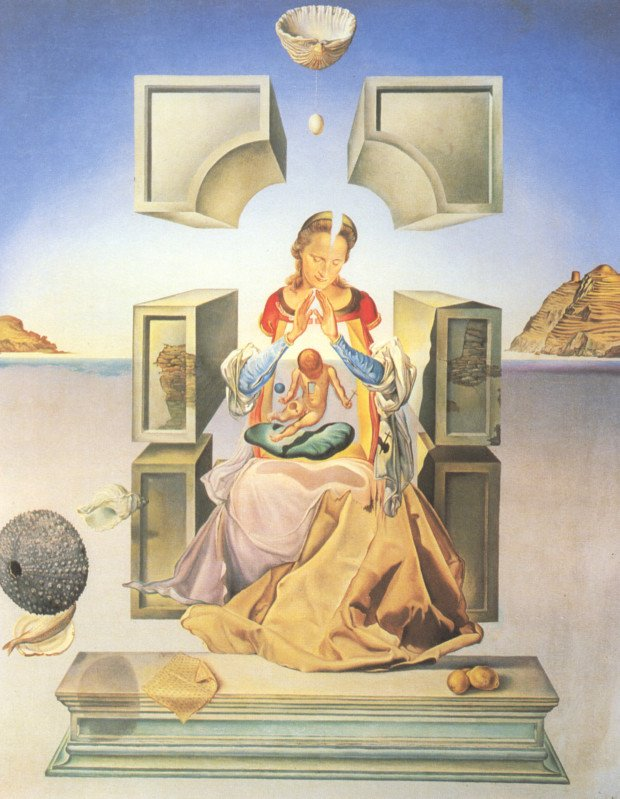 salvador dali the madonna of port lligat 1949 marquette university milwaukee
