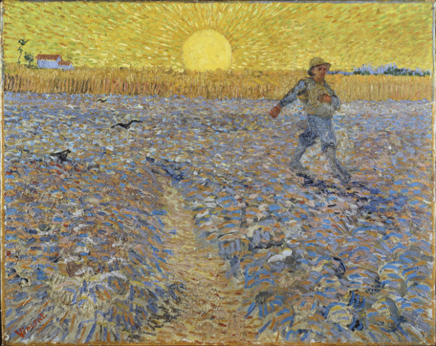 Vincent van Gogh, The Sower, 1888, Kröller-Müller Museum, Otterlo, The Netherlands