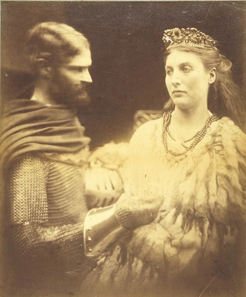 Julia Margaret Cameron, Lancelot and Guinevere, c. 1873, Delaware Art Museum