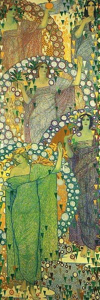 spring in art Galileo Chini, Spring Which Perennially Renews Itsself, 1914, Property of the family Chini