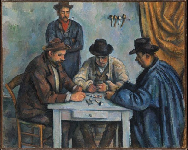 The Card Players, 1890–92, Metropolitan Museum of Art, New York