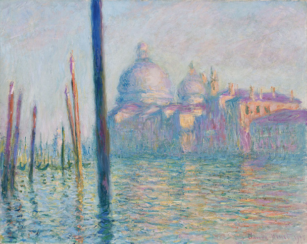 Claude Monet, Le Grand Canal, 1908, Museum of Fine Arts, Boston