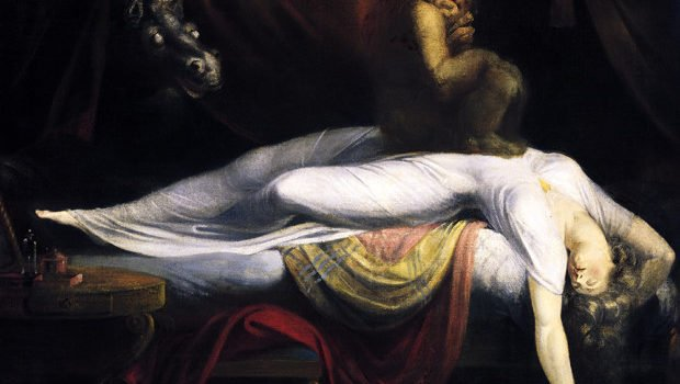 Henry Fuseli, The Nightmare, (1781), Detroit Institute of Arts