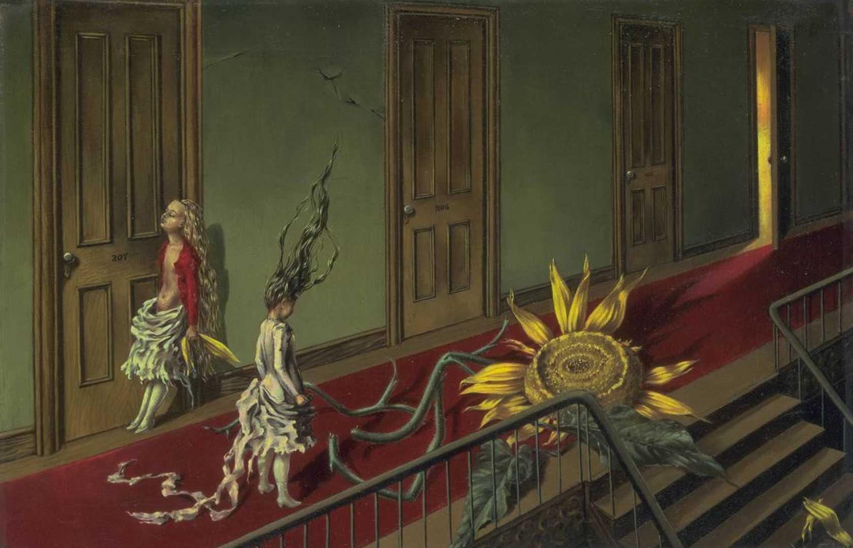 Dorothea Tanning, Eine Kleine Nachtmusik, 1943, Tate Modern