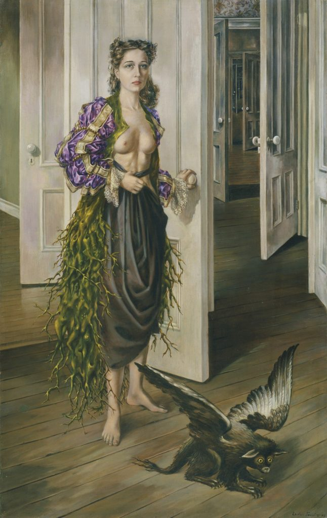 Dorothea Tanning, Birthday, 1942, Philadelphia Museum of Art. ©The Estate of Dorothea Tanning