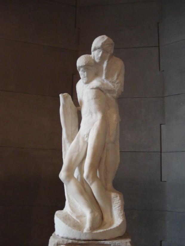 Michelangelo, Pietà Rondanini, 1564, Museum Pietà Rondanini, Italy.