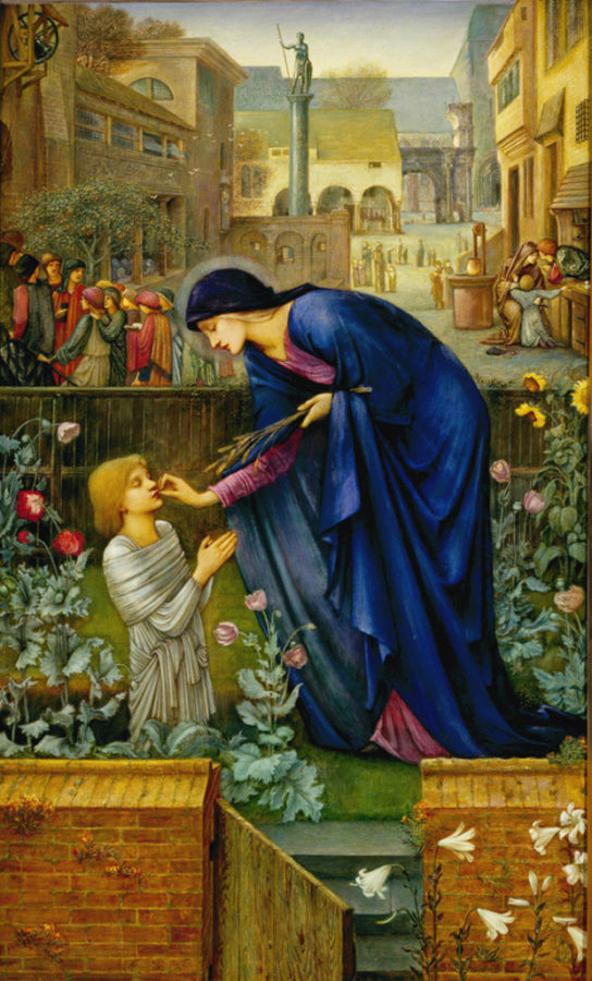Edward Burne-Jones, The Prioress's Tale, 1869-1898, Delaware Art Museum