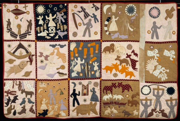 Harriet Powers, Pictorial Quilt, 1895-98, Musuem of Fine Arts, Boston