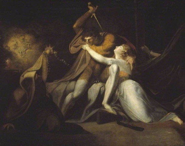 Henry Fuseli, Percival Delivering Belisane from the Enchantment of Urma, 1783, Tate Modern
