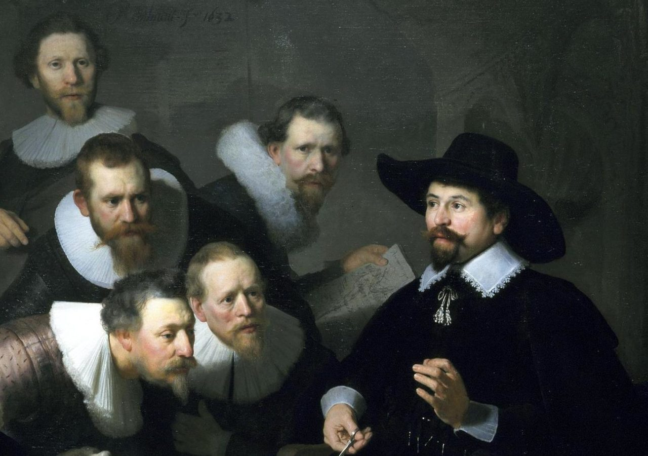 Painting Of The Week: The Anatomy Lesson of Dr. Nicolaes Tulp ...