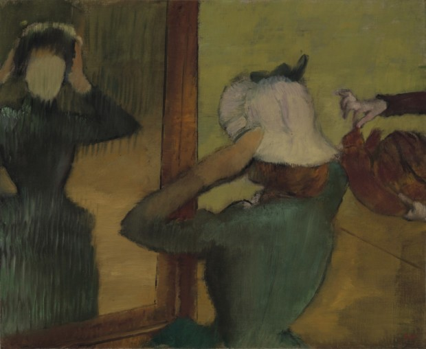 Edgar Degas, At the Milliner ca. 1882 – 1885, Virginia Museum of Fine Arts, edgar degas milliners