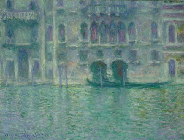 Claude Monet, Palazzo Da Mula At Venice, 1908, National Gallery of Art, Washington