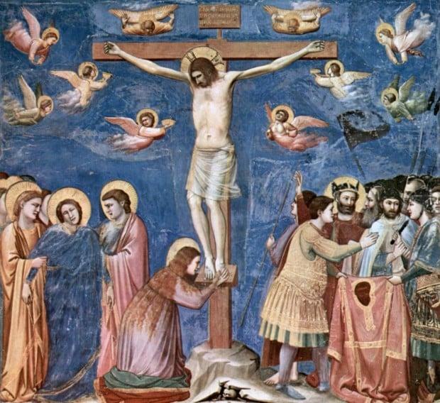 Giotto, The Crucifixion, 1304-06, the Scrovegni Chapel, Padova