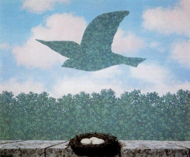spring in art Rene Magritte, Spring, 1965, Private collection