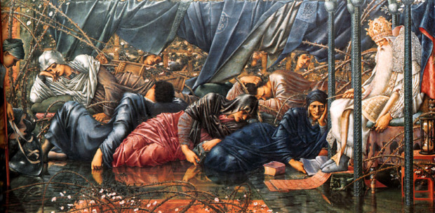 Edward Burne-Jones, The Council Chamber, 1872-1892, Delaware Art