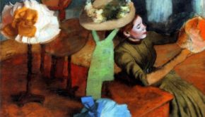 Edgar Degas, The Millinery Shop, 1879/86, Art Institute of Chicago