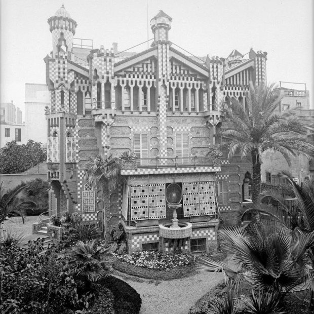 Casa Vicens, the new Gaudi Museum, Barcelona. Source: https://casavicens.org Gaudí museum barcelona