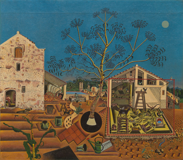 The Farm, 1921-1922, oil on canvas, National Gallery of Art, Washington, Gift of Mary Hemingway, 1987