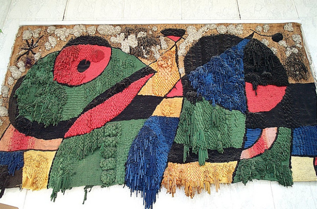 Joan Miro, The World Trade Center Tapestry, destroyed