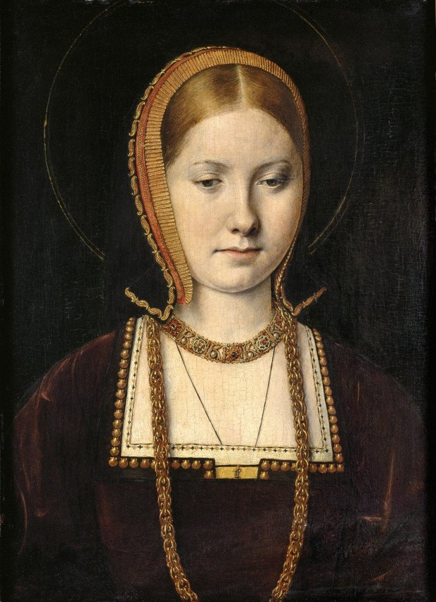 Wives Henry VIII: Michael Sittow, Portrait of a princess (possibly Catherine of Aragon), c. 1502, Kunsthistorisches Museum, Vienna, Austria.