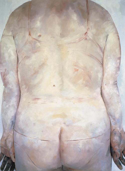 Jenny Saville, Trace, 1993-94, Source: Saatchi Gallery. art models xxl