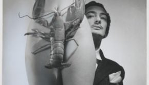 Salvador Dali and the lobster