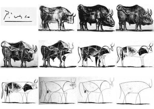 Pablo Picasso's Bulls