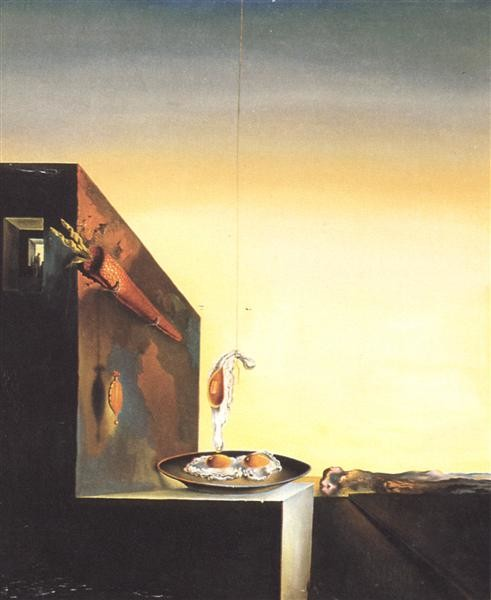 Salvador Dalí, Eggs on the Plate without the Plate, 1932, Dalí Museum, St Petersburg, FL, Easter Egg Art