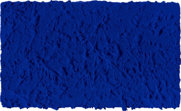 Yves Klein, IKB 45, 1960 Blue Yves Klein
