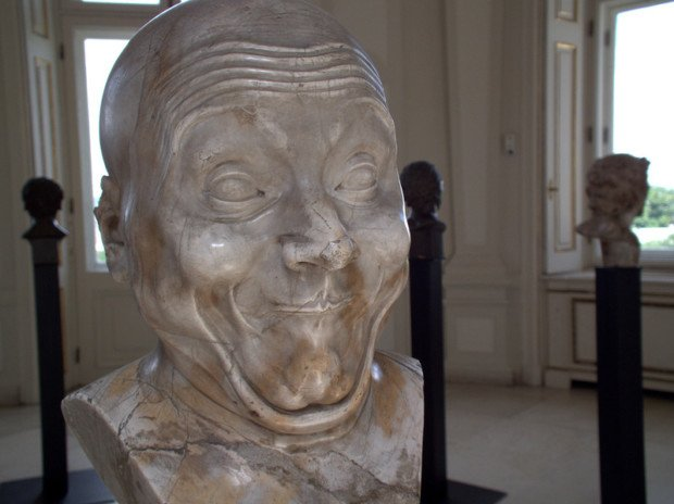 "Franz Xavier Messerschmidt, ""An Intentional Wag,"" (Photo: DALIBRI/CC BY-SA 3.0) Franz Xaver Messerschmidt"
