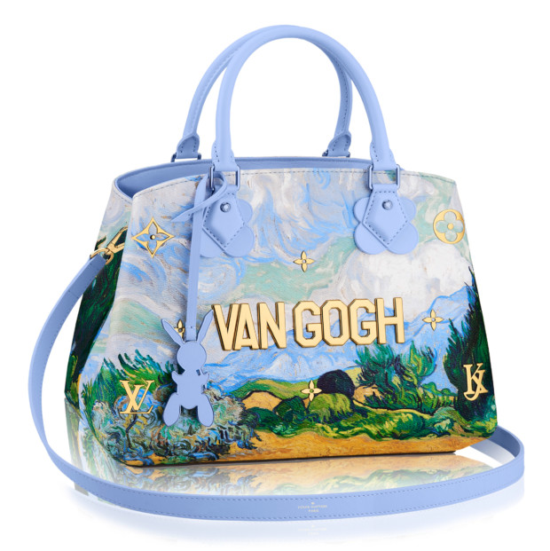 Jeff Koons Louis Vuitton bag van gogh
