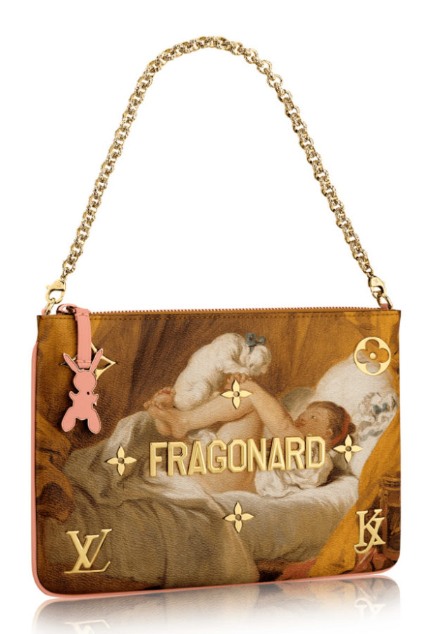 Jeff Koons Louis Vuitton bag fragonard