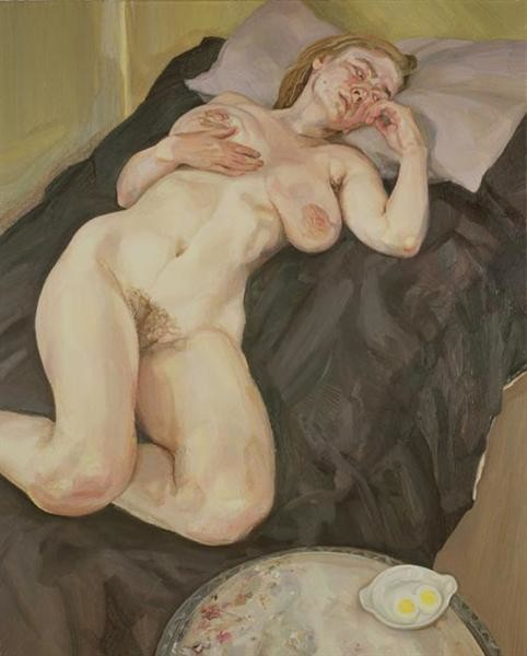 Lucian Freud, Naked Girl With Egg, 1981, British Council, London, Easter Egg Art