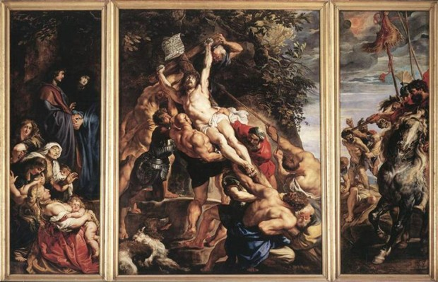 Peter Paul Rubens, The Elevation Of The Cross, Antwerp, 1610