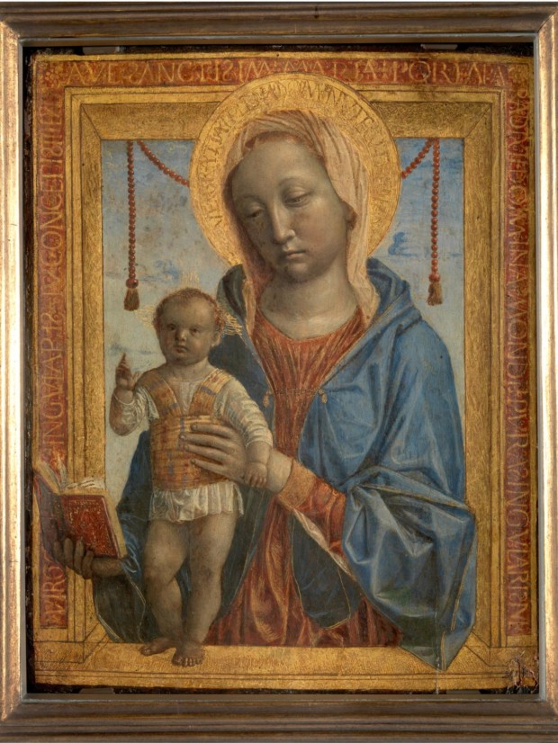 Vincenzo Foppa, Madonna of the Book, 1460, Castello Sforzesco Pinacoteca