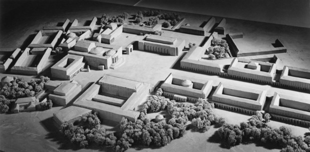 Model of Fuhrermuseum complex Hitlers Art Museum