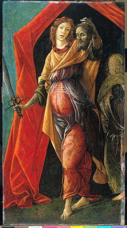 Botticelli, Judith Leaving the Tent of Holofernes, 1495-1500, Rijksmuseum, Amsterdam cindy sherman old masters