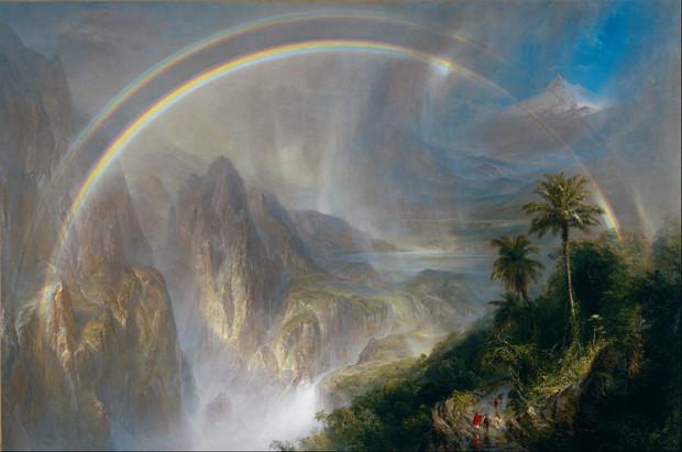 Frederic Edwin Church, Rainy Season in the Tropics, 1866, deYoung Museum Church Rainy Season Tropics