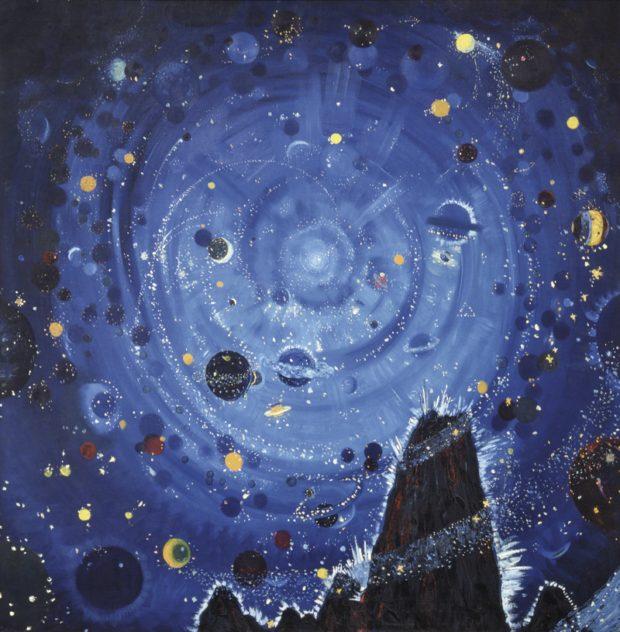 Wenzel Hablik, Starry Night, 1909, Itzehoe, Wenzel Hablik Museum Photo © Wenzel-Hablik-Foundation, Itzehoe