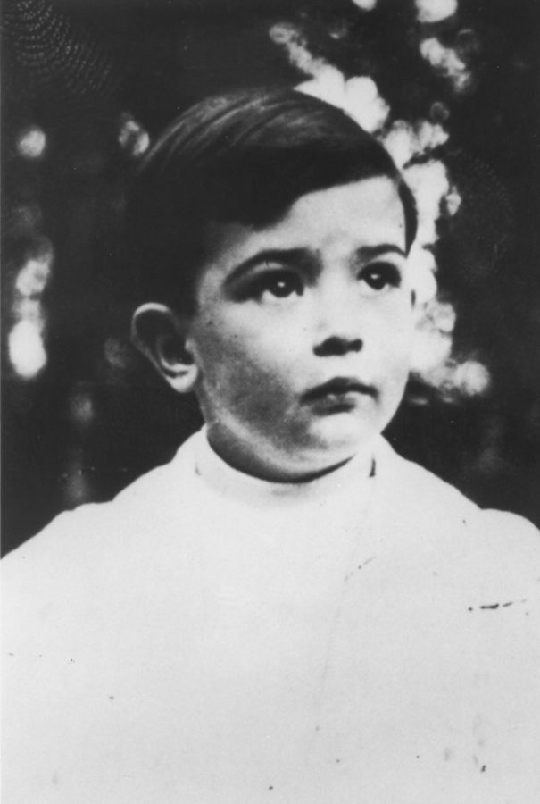 Dali at age 4 Salvador Dali weird