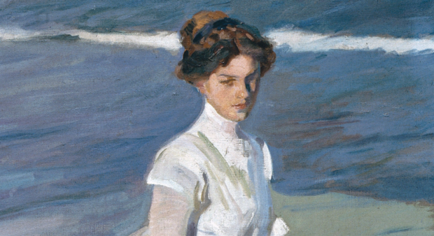 Joaquin Sorolla, Strolling Along The Seashore, 1909, Sorolla Museum, Madrid