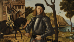 Vittore Carpaccio, Young Knight Landscape