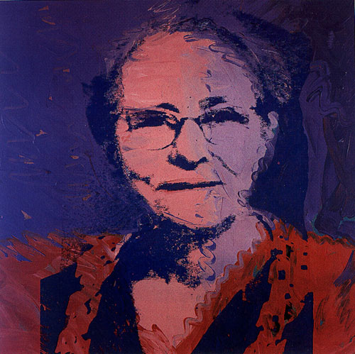 Andy Warhol, Julia Warhola, 1974 mother's day famous mothers art