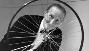 Duchamp talking art