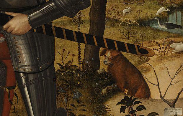 Vittore Carpaccio, Young Knight Landscape Vittore Carpaccio Young Knight Landscape