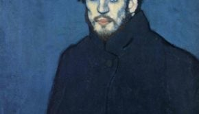 Self Portrait, Paris Late 1901; Musee Picasso, Paris(Blue Period)