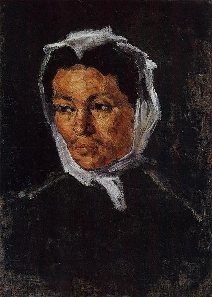 Paul Cezanne, The artist's mother, 1867 mother's day famous mothers art